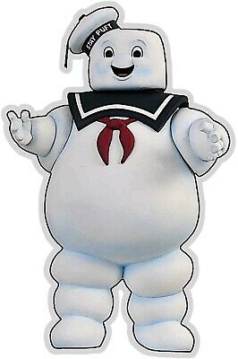 Stay Puft Marshmallow Character Plasma Cut Diner Food Restaurant Metal Sign