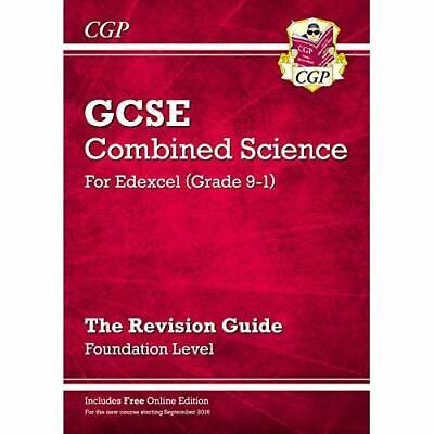 New Grade 9-1 GCSE Combined Science: Edexcel Revision G - Paperback NEW CGP Book
