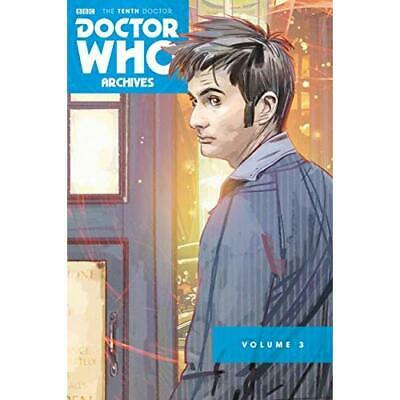 Doctor Who: The Tenth Doctor Archive Omnibus 3 - Paperback NEW Lee, Tony 07/12/2
