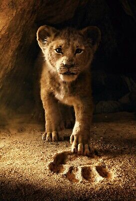 The Lion King Poster Large Teaser Poster On Canvas Or Photo 24X36 20X30