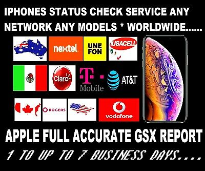 Premium At&t Service Check Status For Iphone 4, 5, 6, 7, 8, 8+, X, Xr, Xs Max