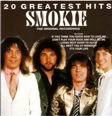 Smokie 20 Greatest Hits -  CD 8QVG The Cheap Fast Free Post The Cheap Fast Free