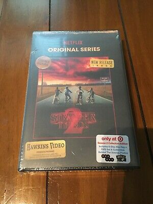 STRANGER THINGS Season 2 New TARGET EXCLUSIVE Collector's Edition Blu-Ray + DVD