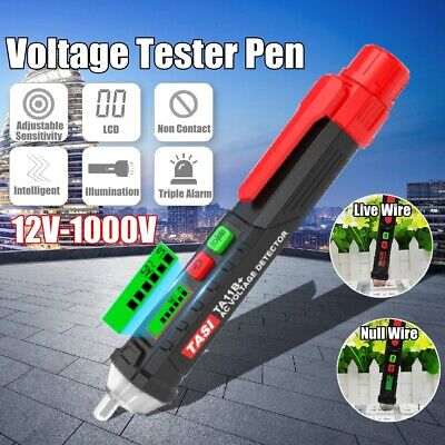 AC/DC Non-Contact LCD Electric Test Pen Voltage Digital Detector Tester