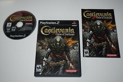Castlevania Curse of Darkness Playstation 2 PS2 Video Game Complete