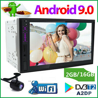 """2Din Android 9.0 7"""" HD Screen Car GPS Stereo Radio BT SD NO-DVD Player WIFI AUX"""