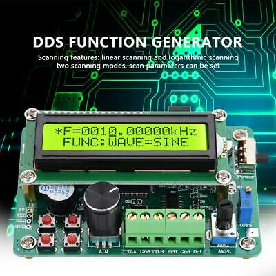 DDS Function Signal Generator Dual TTL Output and 60MHz Frequency Meter