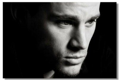 Movie Actor Star Art Silk Cloth Poster 24x30 inch Decor 001 Channing Tatum