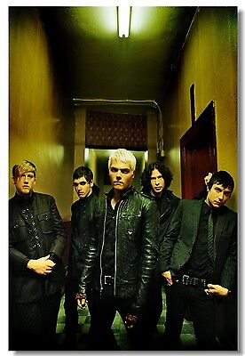 Poster My Chemical Romance Music Band Room Art Wall Cloth Print 206
