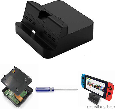 Gulikit DIY Switch Dock Set Replacement Case Kit Compatible for Nintendo Switch