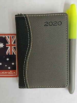 2020 diary pocket size hard cover 77x107mm A Week To View