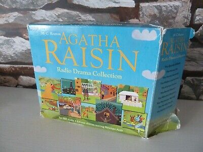 Bbc M.c. Beaton's Agatha Raisin Radio Drama Collection Audio Cd (Penelope Keith)
