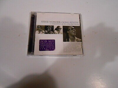 Stevie Wonder-Song Review-A Greatest Hits Collection-2 Cd Set-Australia-1997