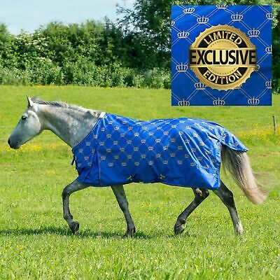 SALE RRP £47! Gallop MONARCH Lightweight No Fill Turnout Rug | Standard No Neck