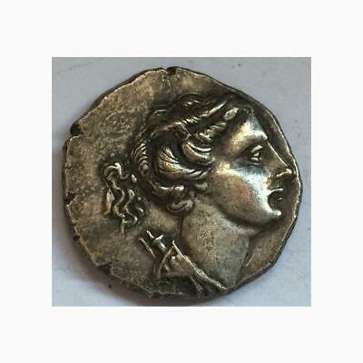 Ancient Greece Coin For Souvenir Collectors Silver Drachma Of Athens