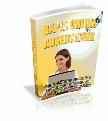Rapid Online Advertising : (E book, PDF) + Master Resell Rights