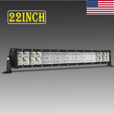 Autofeel 22 inch 3072w Led Light Bar Combo Spot Flood Boat For JEEP Truck SUV US