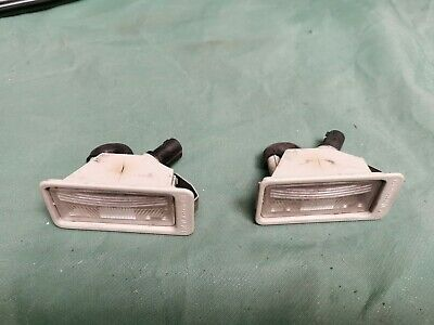 Bmw Z3 E36 Genuine Number Plate Lights Pair