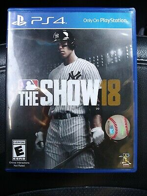 MLB: The Show 18 (Sony PlayStation 4, PS4)