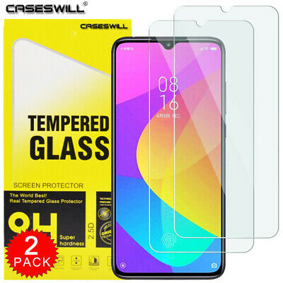 For Xiaomi Mi A3 - Premium HD Clear Tempered Glass Screen Protector [2-Pack]