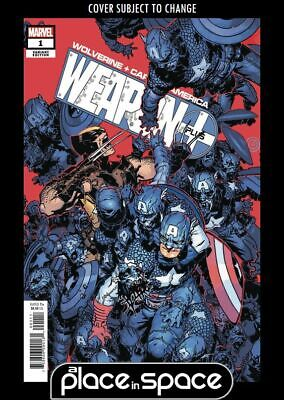 Wolverine And Captain America Weapon Plus #1B - Bachalo Variant (Wk28)