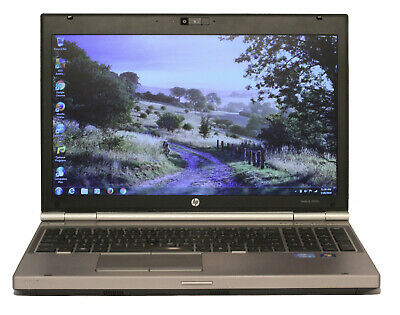 "HP Elitebook 8570p, 15.6"" Laptop, Core i5, HDD or SSD, RS232 DB9 Serial Com Port"