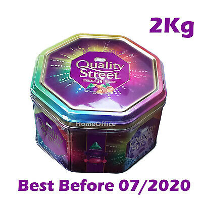 2 kg Quality Street Sweets Chocolates BB 07/2020