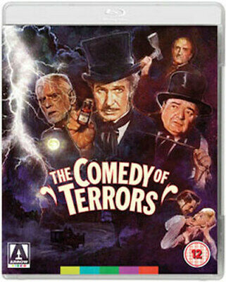 The Comedy Of Terrors Blu-Ray + Dvd [Uk] New Bluray
