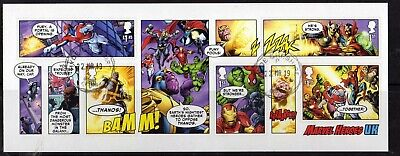 2019 - MARVEL  Minisheet. VFU. CDS
