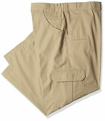 Dickies Men's Tactical Relaxed Fit Straight Leg Lightweight Ripstop Pants, Deser