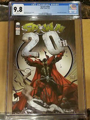 Spawn #220 Cover A Variant CGC 9.8 #200 Homage