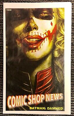 First Appearance of Batman: Damned Harley Quinn Image in Print!