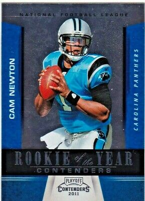 Cam Newton Carolina Panthers 2011 Playoff Contenders #5 Rookie of the Year RC