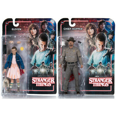 """McFarlane Toys STRANGER THINGS 6"""" Articulated Action Figures Netflix *BRAND NEW*"""