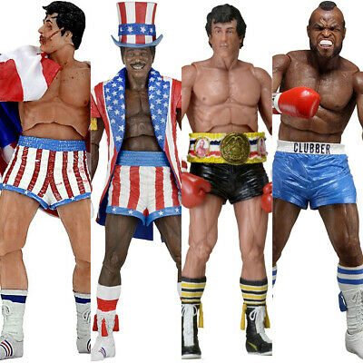 """NECA Collectible ROCKY BALBOA Assorted 6"""" Articulated Action Figures *NISB*"""