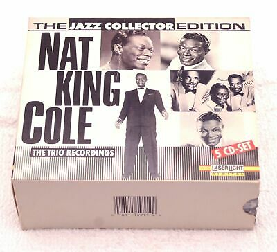 Nat King Cole The Trio Recordings - 5 CD boxed set - Jazz Collector Edition