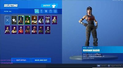 Recon Expert Renegade Stacked Rare Fa Fortnite Account