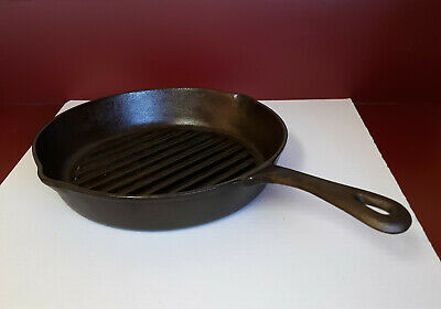 """Wagner Cast Iron 12"""" Skillet Griddle Grill Bacon Fryer Made In China"""