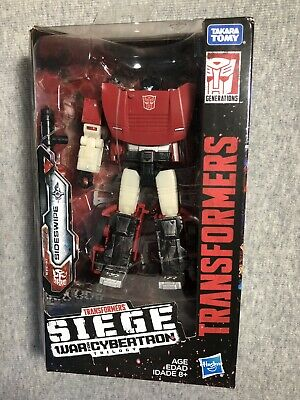 Transformers Generations War for Cybertron:  Wfc-S10 SIDESWIPE