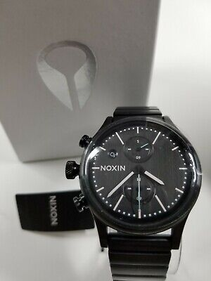 Nib Chrono Black 1162 Station Nixon All 2341 Gunmetal Watch vmN80Own