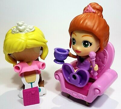 Grace /& her Throne Playset and Figue with 2 Outfits and Sound vTech Flipsies