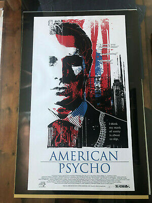 AMERICAN PSYCHO - JAMES RHEEM DAVIS Rare Sold Out Limited Edition Print NT MONDO