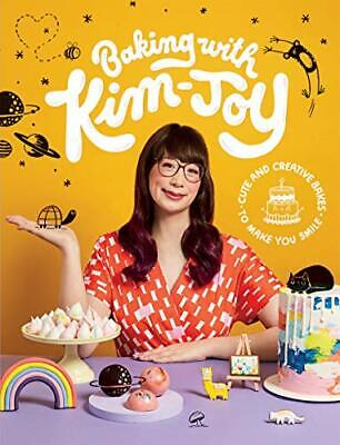 Baking with Kim-Joy: Cute and creative bakes to make you smil New Hardcover Book