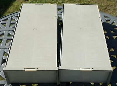 6 X 35mm SLIDE STORAGE BOXES + MAGAZINES  6 x 100 - STORAGE FOR 600 35mm SLIDES