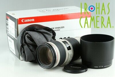 Canon EF 70-200mm F/4 L IS USM Lens With Box #23042