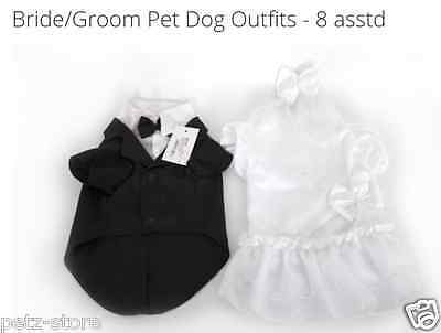 XXS-S  Puppy small dog toy breed up costume Wedding outfit ? fancy dress