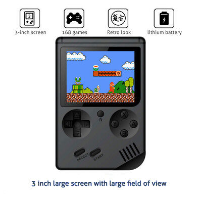 """3.0"""" Retro FC Mini TV Handheld Game Console Built-in 168 Games Pocket Player"""