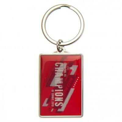 Liverpool F.C. Champions Of Europe Keyring NC Official Merchandise