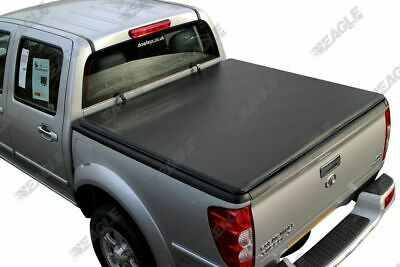 Isuzu Rodeo Dmax Soft Viny Tonneau Cover Roll Up Load Bed Cover 03-11 Double Cab