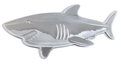 2019 Solomon Hunters Great White Shark 1 oz Proof Silver $2 Coin SKU58679